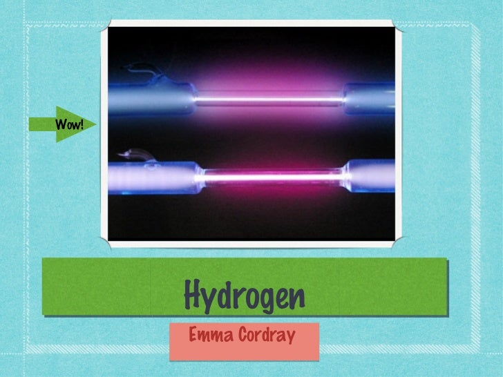 Hydrogen project
