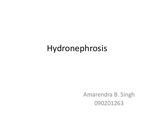 Hydronephrosis - Intro