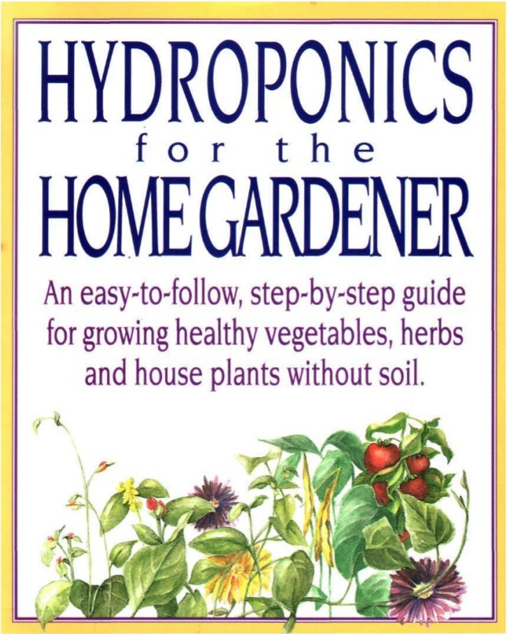 "This could be considered a fairly accurate definition of the term""hydroponics."" In its more advanced stages, hydroponics c..."