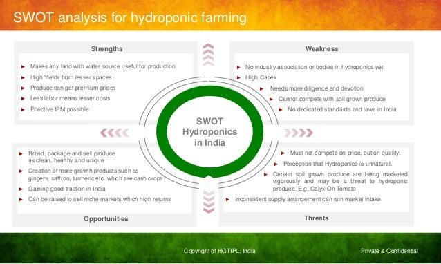 Hydroponics study in india