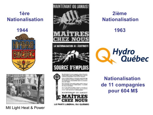 1ère                    2ièmeNationalisation          Nationalisation      1944                   1963                    ...