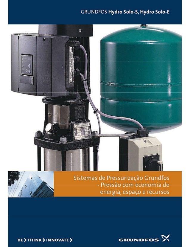 Hydro solo pressurização grundfos
