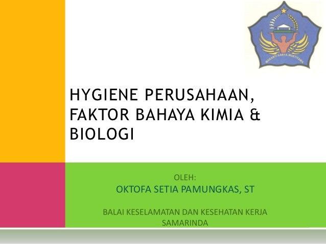 Hygiene perusahaan,