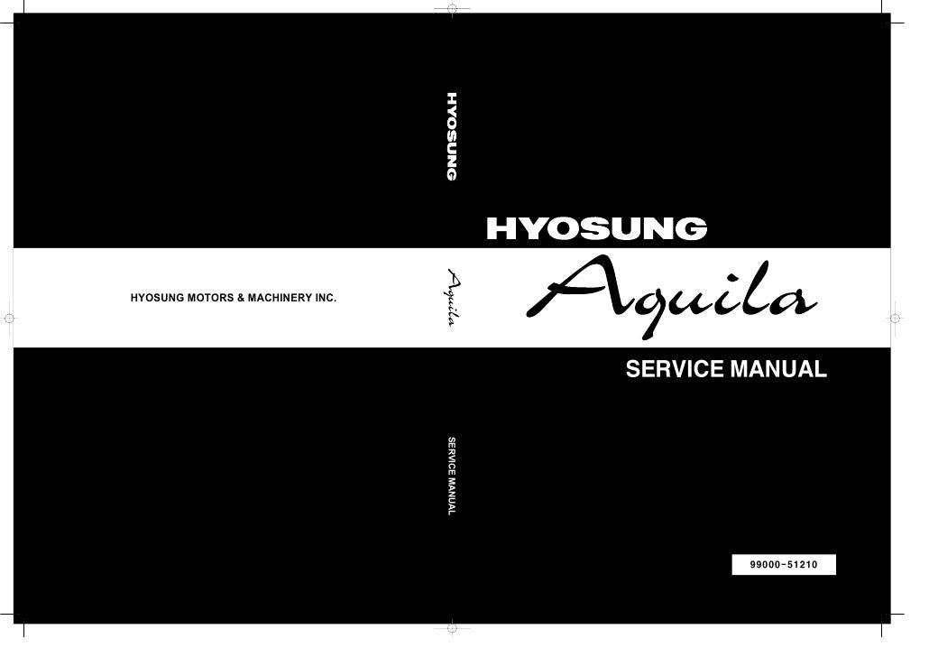HYOSUNG MOTORS & MACHINERY INC.                                                        SERVICE MANUAL                     ...