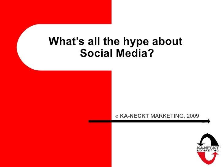 Social Media Hype