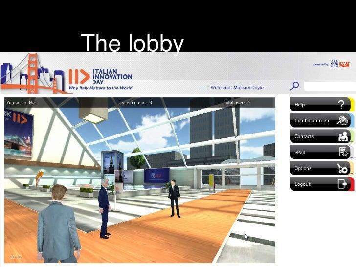 The lobby<br />
