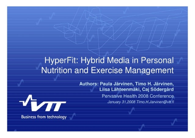 HyperFit:  Hybrid Media in Personal  Nutrition and Exercise Management  Authors:  Paula Jarvinen,  Timo H.  Jérvinen,  Lii...