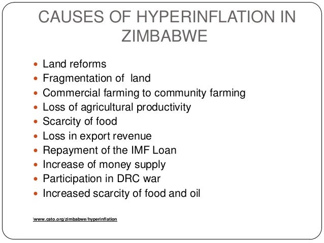 causes of hyperinflation essay