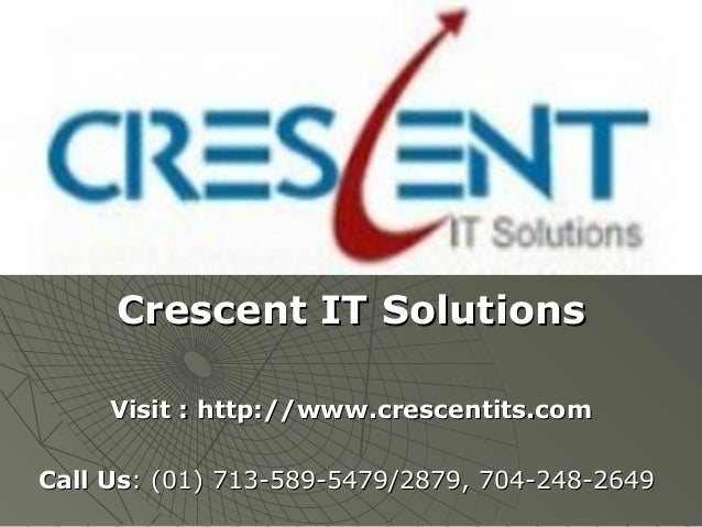 Hyperion data relation ship management Online Training and Placement @ Crescent IT Solutions