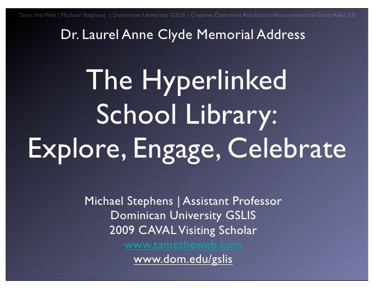 Hyperlinked School Lib Asla
