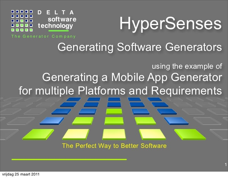 Hyper senses 'mobile apps'
