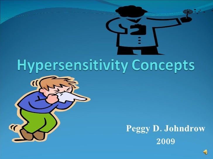 Hypersensitivity Concepts Vo