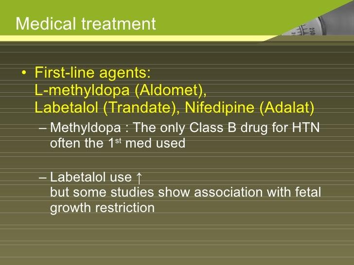Procardia And Labetalol Pregnancy