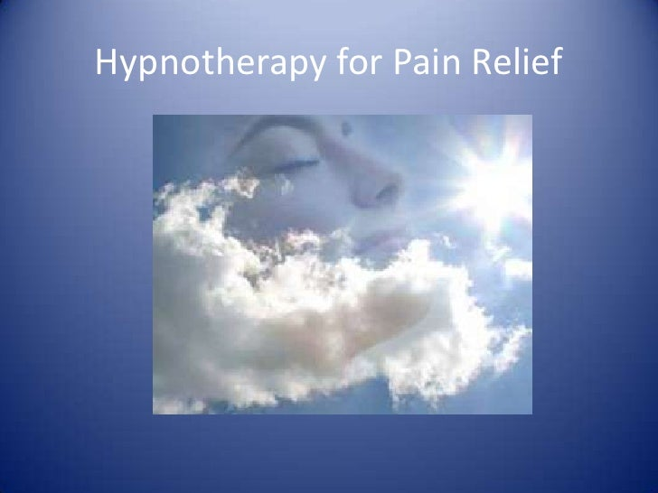 Hypnotherapy for Pain Relief