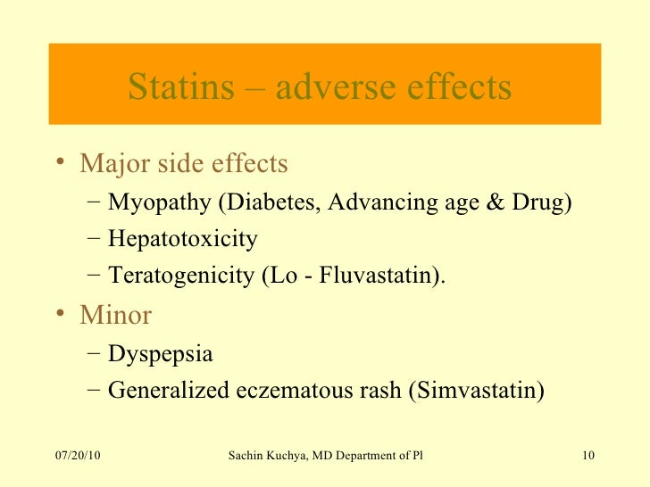 Side Effects Of Lopid Medication