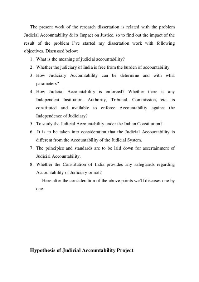 Dissertation review service judicial