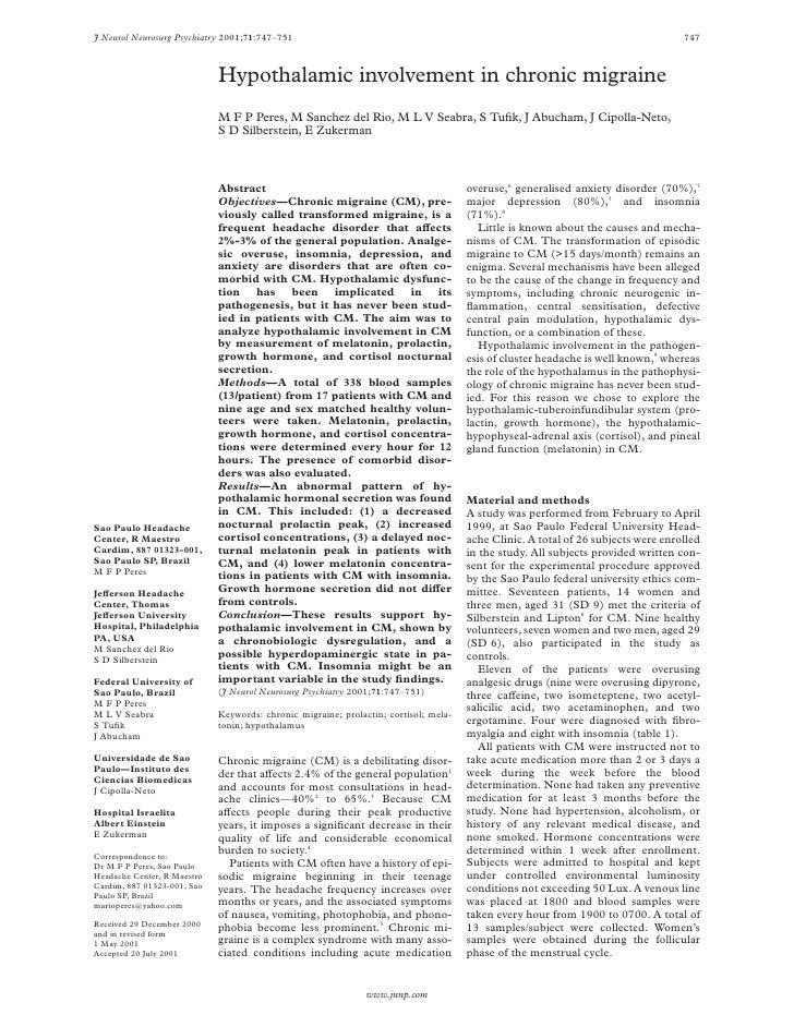 J Neurol Neurosurg Psychiatry 2001;71:747–751                                                                             ...