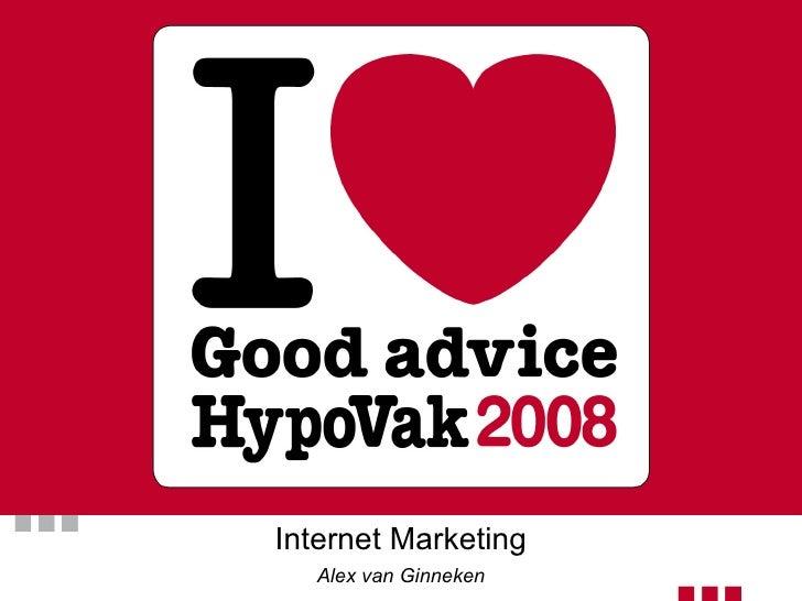 Hypovak Internet Marketing Alex Van Ginneken 2008