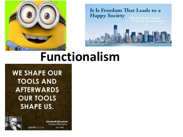 functionalism and education Sociology essay uploaded by tyhishia clarke connect to download get docx sociology essay download having greater access to education for the functionalists, education performs a positive function for all individuals in society and has a powerful influence over it.