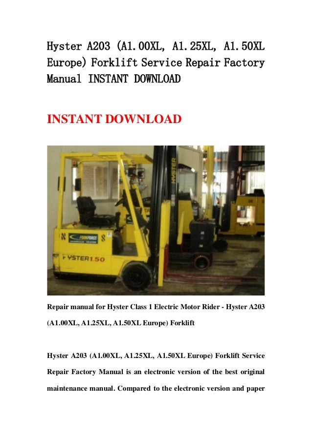 Hyster a917 h4000xm 12 europe forklift service manual sap project free download here free download hyster a214 h1400 1800xm 12 12ec europe forklift service repair factory manual share download hyster a214 fandeluxe Gallery