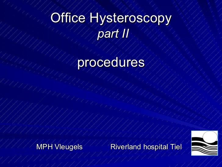 Hysteroscopy 0