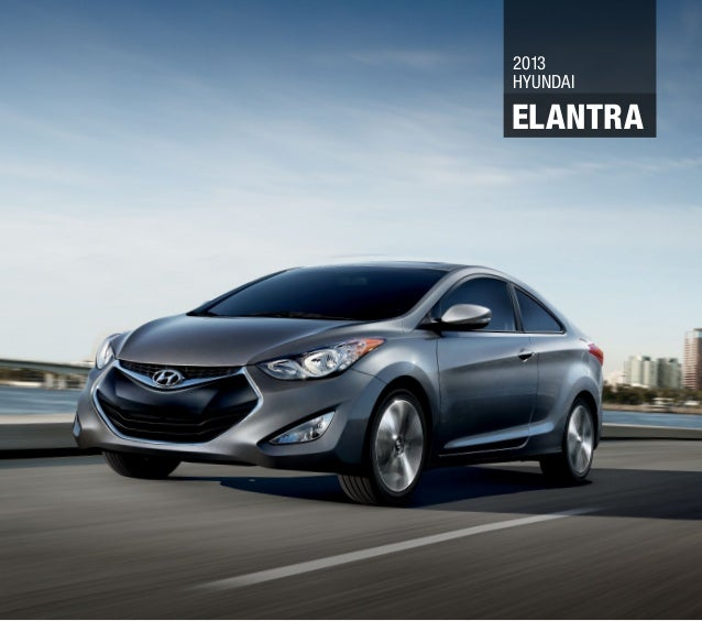 New 2013 Hyundai Elantra
