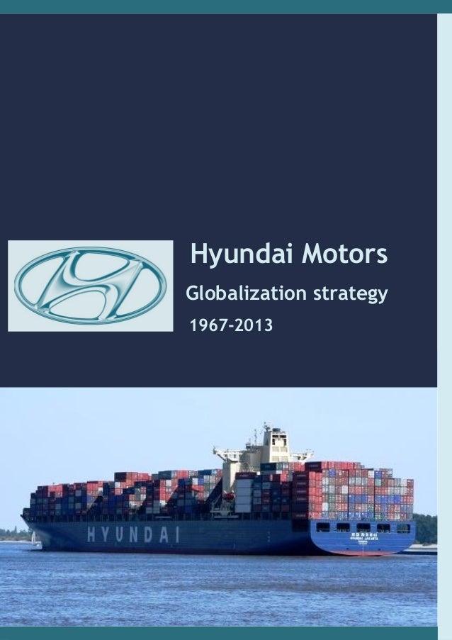 Hyundai motors corp globalisation strategy no mie front re for Hyundai motor finance corp address