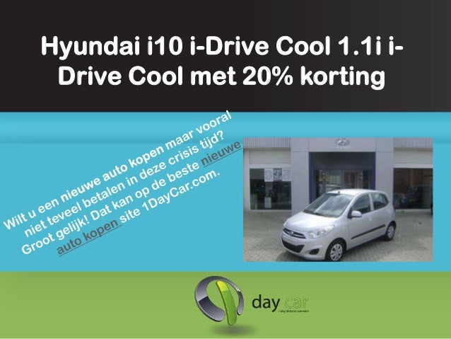Hyundai i10 kopen met 20 procent korting