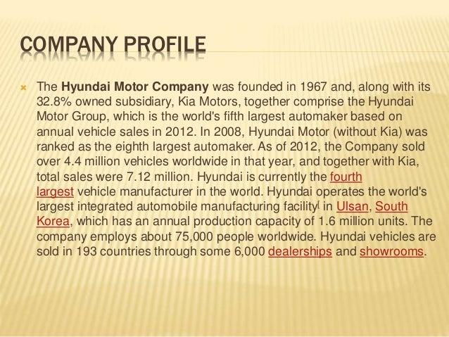 Hyundai motor company india