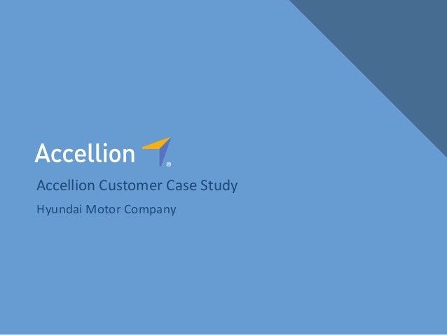 Accellion Case Study: Hyundai Motor Company