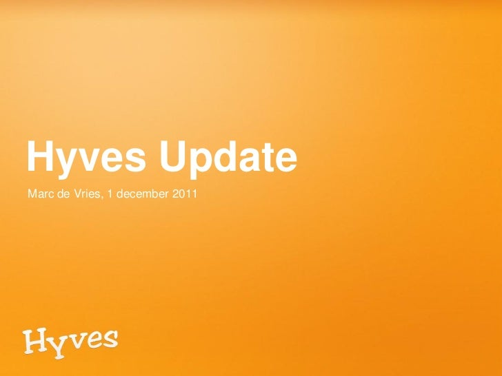 Hyves pers update 011211
