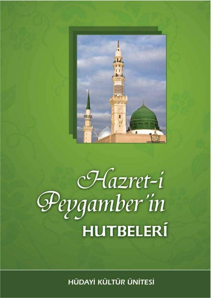 Hz peygamber hutbeleri_kitapcik