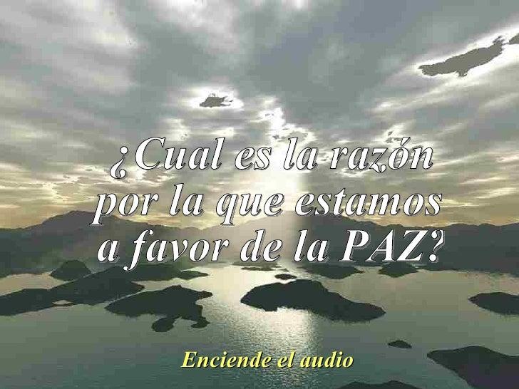 I 12 7 Por La Paz  Con Audio