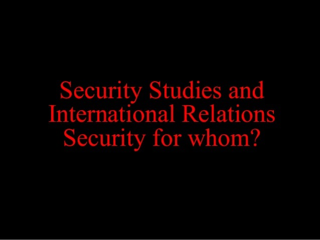 international relations upcoming threat is Identity, power, and threat perception a cross-national experimental study in the international relations literature, a threat is defined as a situation in which.