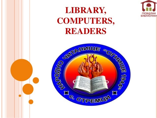 Library, Computers, Readers