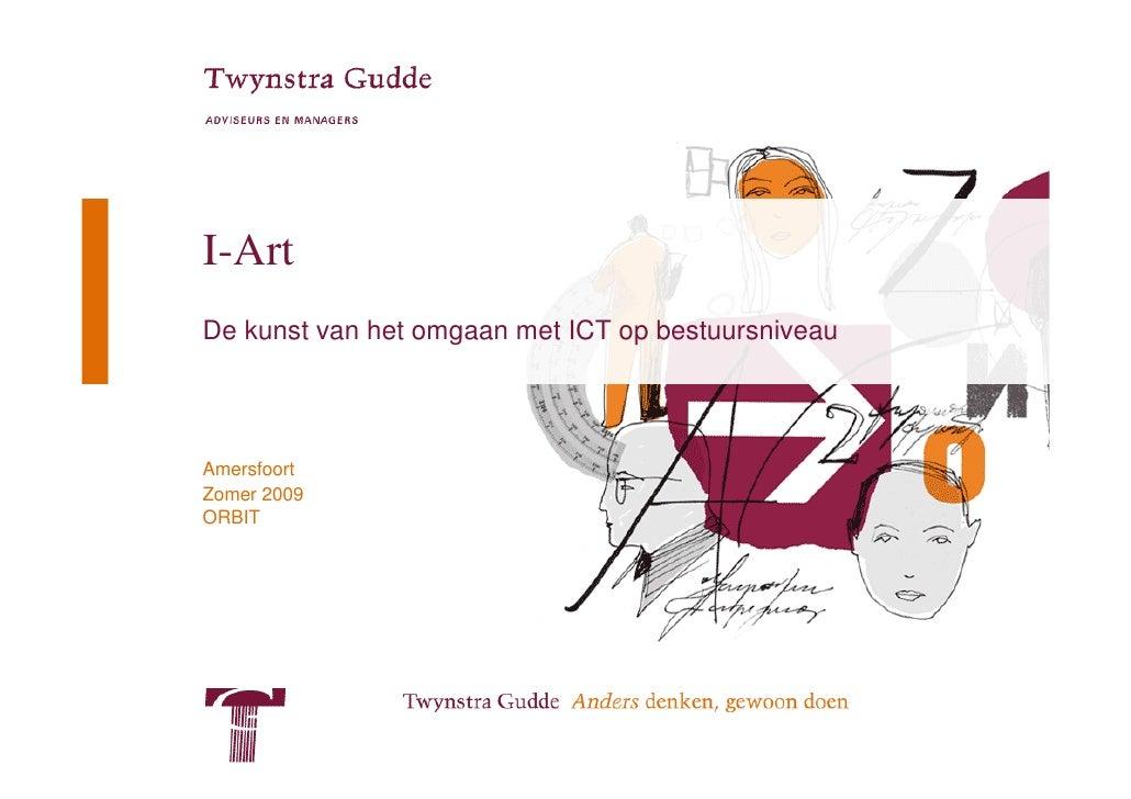 I-Art - De kunst van het omgaan met ICT op bestuursniveau