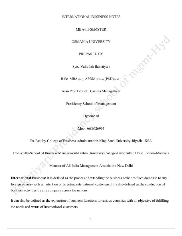 How to fix my resume if I want to pursue International Trade degree?