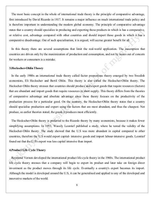 global trade essay Free essay: case study: nike, inc international business and trade unit 1 company ethics: nike inc in cooperation with its suppliers many global companies.