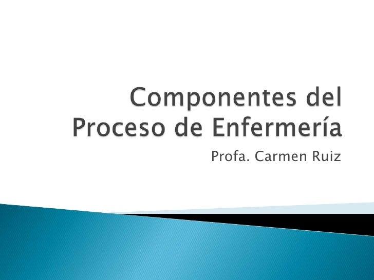 Profa. Carmen Ruiz