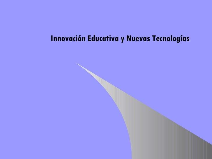 I Do Ctorado.Innovaci N Educativa Y Nuevas Tecnolog As