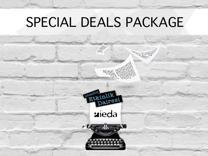 SPECIAL DEALS PACKAGE!