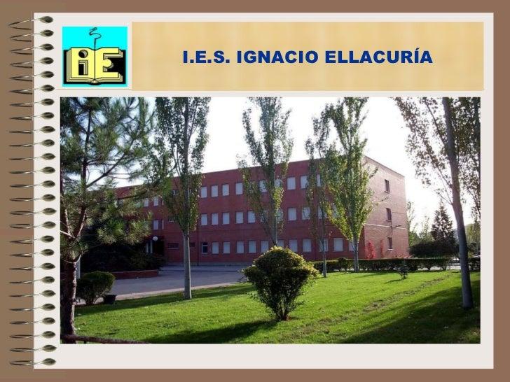 I.e.s. ignacio ellacuría.bach.11