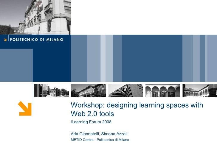 I Learn Workshop 01