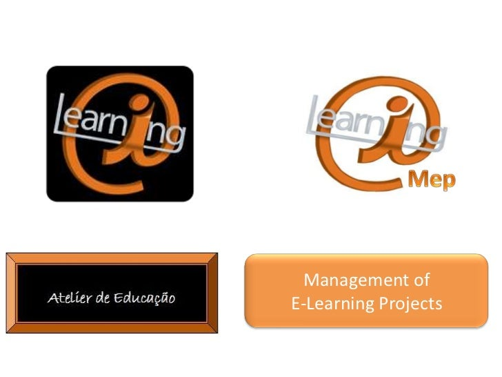Management ofE-Learning Projects