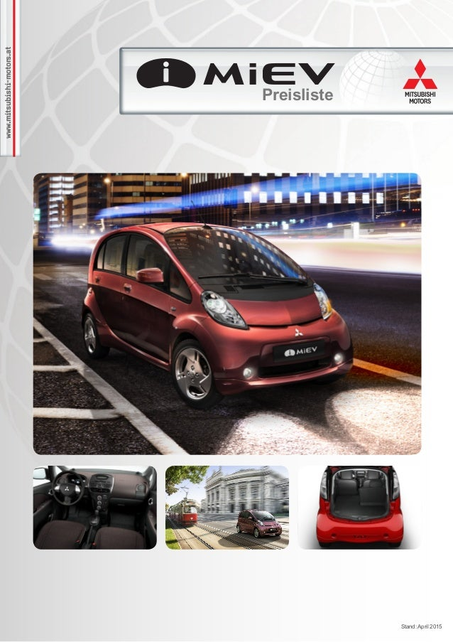 www.mitsubishi-motors.at Preisliste Stand: April 2015