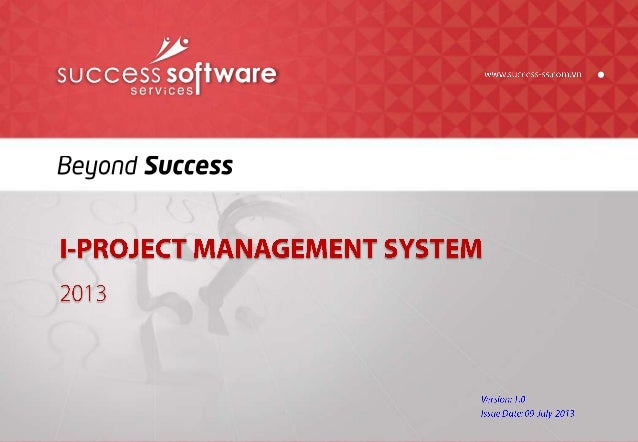 i-Project Management System (iPMS)
