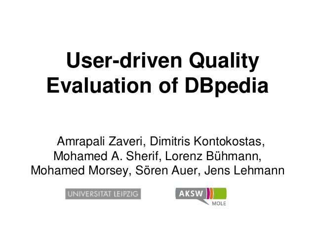 User-driven Quality Evaluation of DBpedia