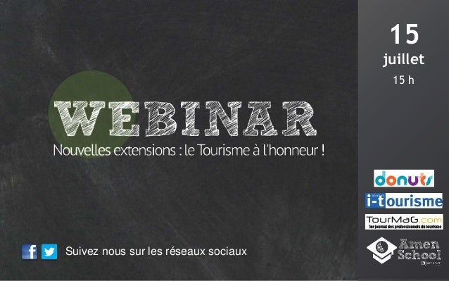 I tourisme amen donuts webinar july 15