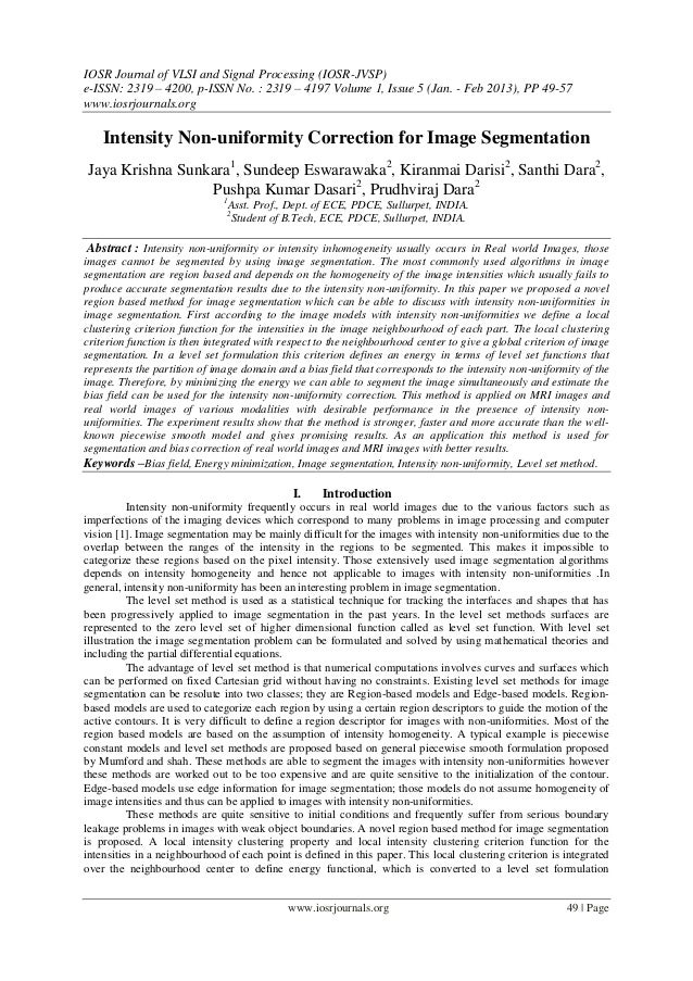 IOSR Journal of VLSI and Signal Processing (IOSR-JVSP) e-ISSN: 2319 – 4200, p-ISSN No. : 2319 – 4197 Volume 1, Issue 5 (Ja...
