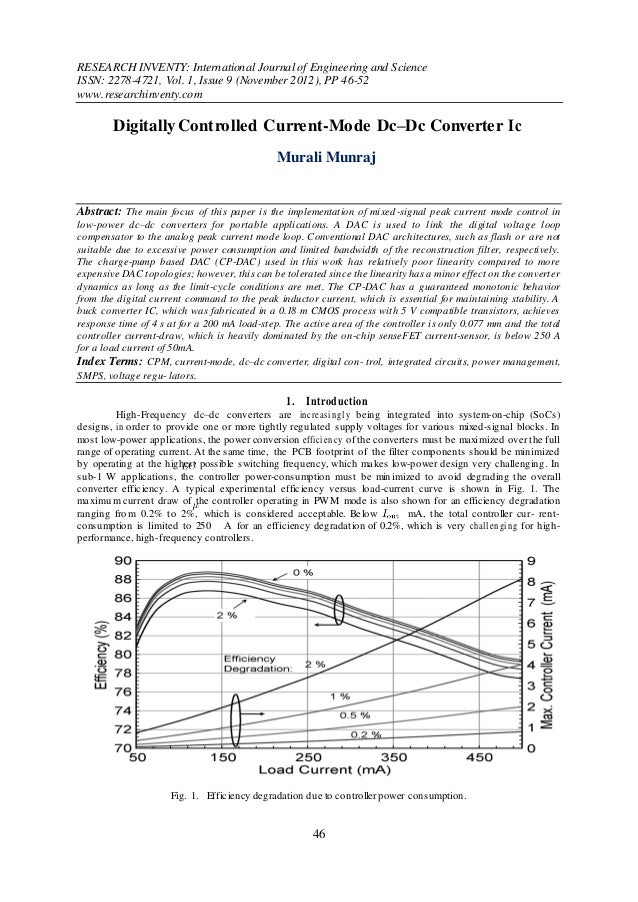 RESEARCH INVENTY: International Journal of Engineering and ScienceISSN: 2278-4721, Vol. 1, Issue 9 (November 2012), PP 46-...